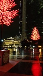 A Christmas Decor at Boat Quay