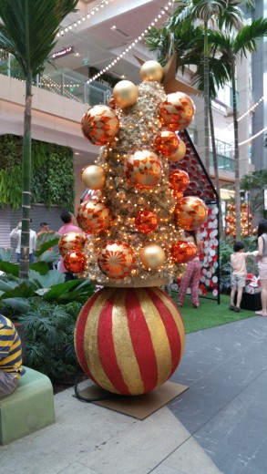 A Christmas Decor at Jurong East